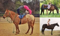 You can now do yoga on HORSEBACK #DailyMail