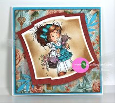 Store blog: Suzi With Bunny by Sylvia Zet/Whimsy Stamps