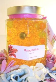 Honeysuckle Room Air Freshener. Highly fragrant and long-lasting.