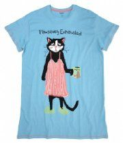 """Pawsitively Exhausted"" Sleepshirt by Hatley"