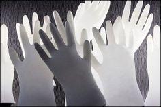 marshmallow glove , elBulli