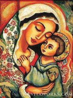 Madonna Niño bendito Jesús de madre virgen madre hijo