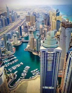 Dubai Marina -