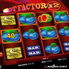 It's getting hot in the Hot Factor game! Hot opportunities to win spring up when you least expect it. Incredible features with an unbelievable 81 paylines, the ultimate Joker and the innovative opportunity to double your winnings. Up And Running, Online Casino, Factors, Opportunity, Joker, The Incredibles, Games, Spring, Hot