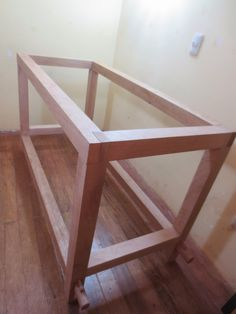 Carpentry And Joinery, Wood Joinery, Woodworking Joints, Woodworking Workbench, Diy Projects Plans, Woodworking Projects Diy, Wood Projects, Free Standing Kitchen Sink, Building A Workbench