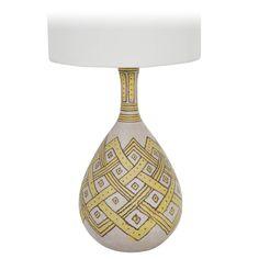 Guido Gambone Lamp   1stdibs.com