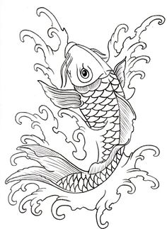 Newest Pic Japanese Embroidery koi Thoughts Sashiko is submit form of Japanese individuals embelleshment employing a difference of a operating s Koi Fish Drawing, Koi Fish Tattoo, Fish Drawings, Art Drawings, Fish Tattoos, Tattoo Drawings, Sashiko Embroidery, Japanese Embroidery, Embroidery Art