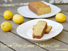 Grain Free Lemon Medeira Cake | Real Food Outlaws