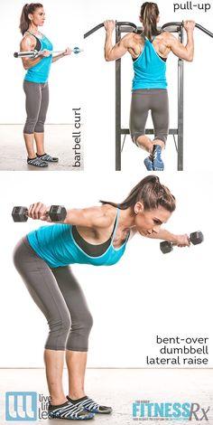 Pauline Nordin's Metabolic Booster Workout - Underhand ...