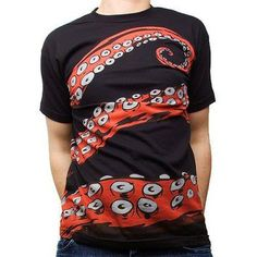 Handmade Gifts | Independent Design | Vintage Goods Tentacles Tee - Mens - Best Sellers