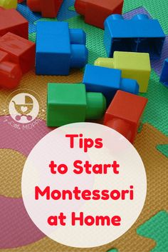 Implementing the Montessori Method at home doesn't have to be difficult or expensive. Here are some simple tips to start Montessori at home with your child.