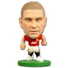 SoccerStarz Manchester United F.C. Nemanja Vidic - Rs. 499 Official #Football #Figurines from leading clubs across Europe.