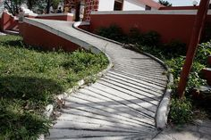 Not so accessible Wheelchair Ramp -- Yikes! by -RobD-, via Flickr