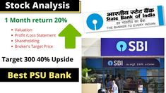 SBI stock analysis   State bank Of India share analysis   SBI latest News Stock Analysis, Stock News, Thing 1, Bank Of India, Investing, Marketing