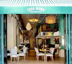 Casa Mono // Bar / Café / Restaaurante / Cóctel // Madrid // C/ Tutor, 37 Cafe Bar, Cafe Shop, Commercial Design, Commercial Interiors, Restaurant Design, Restaurant Bar, Bar Madrid, Gallery Cafe, Restaurant Marketing