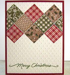 Homemade Christmas Cards, Merry Christmas Card, Christmas Cards To Make, Homemade Cards, Christmas Cactus, Christmas Tree, Embossed Christmas Cards, Holiday Cards, Religious Christmas Cards