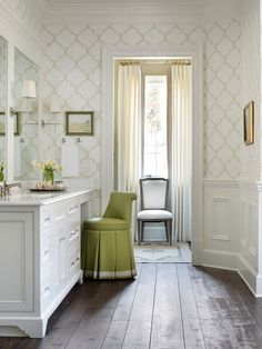 Traditional Bathroom #TraditionalBathroom Chenault James Interiors.