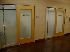Hudson Hospital created a custom look to enhance the privacy
