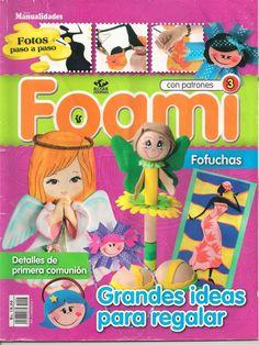 Revistas de Foamy gratis: como hacer fofuchas de lapiceros