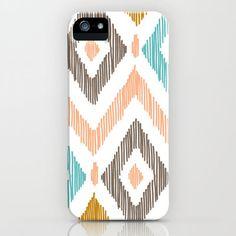 Sketchy Diamond IKAT iPhone Case by Patty Sloniger | Society6