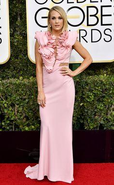 The singer spoke with E! News' Ryan Seacrest on the 2017 Golden Globes red carpet