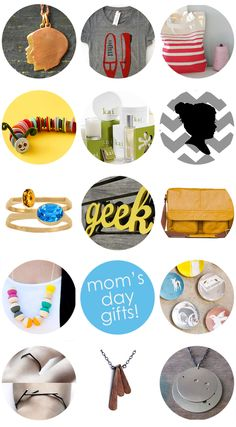 Modern Mother's Day Gift Guide~ some great suggestions!