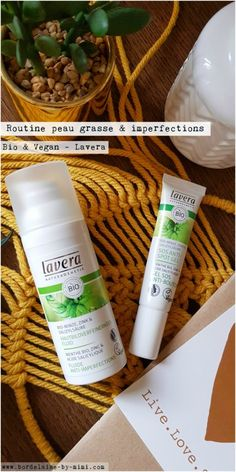 Bordelaise by MimiFluide anti-imperfections & Crème SOS boutons Lavera - Beauté Vegan Blog Vegan, Anti Imperfection, Legume Bio, Organic Beauty, Shampoo, Im Not Perfect, Wound Healing, Mint Extract, Stop Eating