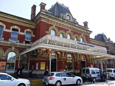 Portsmouth & Southsea, an elegant old-style station
