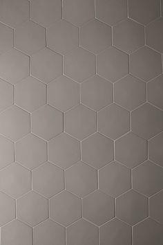 Phenomenon Hexagon by Tokujin Yoshioka Metallic Wall Tiles, Hexagon Tiles, Mud, Tile Floor, Flooring, Deco, Inspiration, Kitchen, House