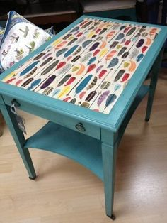 Image result for decoupage coffee table ideas