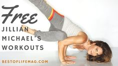 Anyone can do these free Jillian Michaels workouts at home or on the go and get in shape fast!