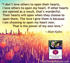 Favorite quotes from spiritual teacher Matt Kahn. TrueDivineNature.com