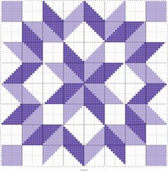 This quilt kit features NO triangles for easy piecing and uses the creative and nice looking carpenter's wheel quilt block pattern. Fabrics in this kit are trees scattered on a mottled blue background Star Quilt Blocks, Star Quilts, Mini Quilts, Easy Quilts, Block Quilt, Half Square Triangle Quilts, Square Quilt, Quilting Projects, Quilting Designs