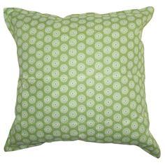 GREY GARDENS | Zara Cushion in Green - Homeware - 5rooms.com