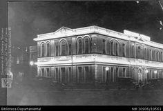 ERICH BART. Vista noctura del Colegio Santa Librada. Cali 1925 . SANTIAGO DE CALI: Biblioteca Departamental Jorge Garces Borrero, 1925. 8.5 X 14.