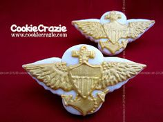 CookieCrazie: US Navy Pilot Cookie Collection - Thanks Jason!