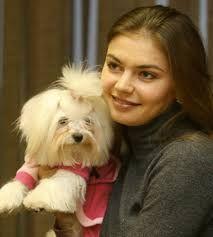 Vladimir Putin's new girlfriend. with her maltese dog . Alina Kabaeva, United Russia, Current President, New Girlfriend, Maltese Dogs, Vladimir Putin, Puppy Love, Girlfriends, Celebrities