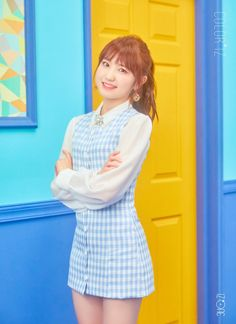 HONDA - another Japanese member of IZ*ONE. This is one model the Honda Car Company wouldn't be able to manufacture! If they could it would be a big seller I'm sure. Kpop Girl Groups, Kpop Girls, Yuri, Honda, Japanese Girl Group, Kim Min, Soyeon, Female Singers, Debut Album