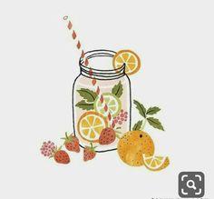 Some refreshing fruit water recipes to try on this sunny spring day 🍓🍋🍊… – Bilder Obst & Gemüse – Fruit Simple Illustration, Fruit Illustration, Logo Dulce, Fruit Water Recipes, Fruit Sketch, Fruits Drawing, Fruit Art, Spring Day, Food Illustrations