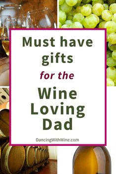 Looking for the perfect father's day, birthday, Christmas, or just because gifts for the dads in your life? Check out these wine glasses. They make the best gifts for dad if he is a wine lover! Best Dad Gifts, Fathers Day Gifts, Gifts For Dad, Gifts For Wine Lovers, Wine Gifts, Creative Gifts, Cool Gifts, Wine Baskets, Love Dad