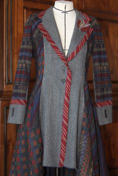 Pat Congleton - Recycled Men's Sportcoat and sweaters