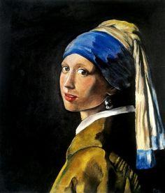 La ragazza con l'orecchino di perla - Vermeer  Art by MaryAlice