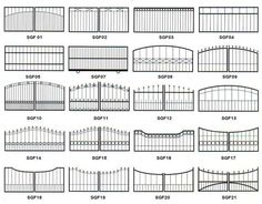 metal slide gate - Google Search
