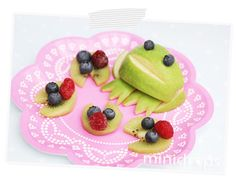 Frosch Obstteller / Fruit Frog - for a #Princess and #Frog #Party
