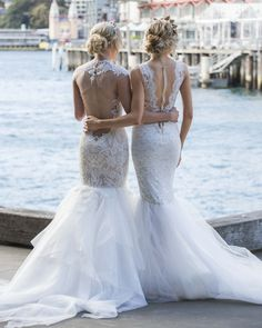 Gorgeous Sydney Photo shoot by @eternalbridal featuring Ines by Ines Di Santo collection | Head Pieces by Viktoria Novak | Photography by Inlighten Photography | Hair by Natalie Anne Hair | Makeup by Melissa Sassine Makeup
