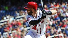 Baseball America named Washington Nationals' slugger Bryce Harper their Major League Player of the Year today after the 22-year-old slugger's impressive 9.5 fWAR 2015 campaign in the nation's capital. Will he get the NL MVP too?