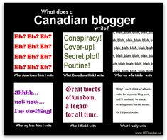 "It's the ""What I really do"" meme, but with a cool Canadian twist. Blog Writing Tips, Writing A Book, Authors, Writers, Online Blog, Digital Marketing, Content Marketing, Free Blog, Copywriting"