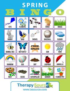 Celebrate Spring with this free WH question BINGO activity for your speech therapy classroom! Preschool Speech Therapy, Preschool Songs, Free Preschool, Bingo For Kids, Activities For Boys, Shape Activities, Articulation Activities, Speech Therapy Activities, Play Therapy Techniques
