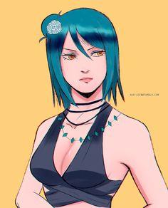 Sucubus Anime, Anime Toon, Chica Anime Manga, Otaku Anime, Anime Naruto, Kawaii Anime, Naruto Girls, Naruto Art, Anime Girl Hot