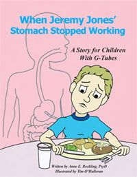 """AWESOME! A Free Children's G-Tube Book. This book... """"is intended to help children with g-tubes recognize their strengths and learn more about a g-tube"""". #tubie #g tube #feeding tube"""